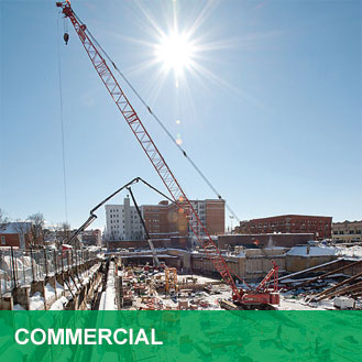 cranes for commercial buildings