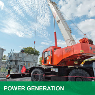 cranes for power generation facilities
